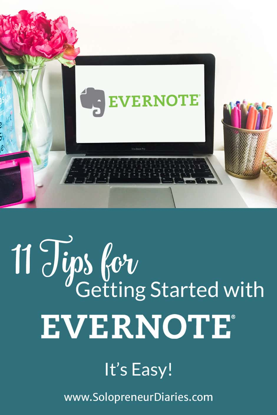 "I've been using Evernote since 2009 and I can't imagine how disorganized my life would be without this program. It's billed as a tool to help you ""Remember Everything."" If you aren't using Evernote yet, it's easy to get started. Follow the 11 tips that I'm sharing today and you'll be up and running in no time."
