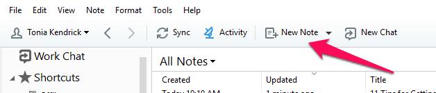 new-note-windows