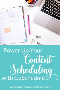 When I started this blog, I wanted to try CoSchedule to see if it could beat out my spreadsheet content scheduling system. It turns out it that it could. Click through to see how.