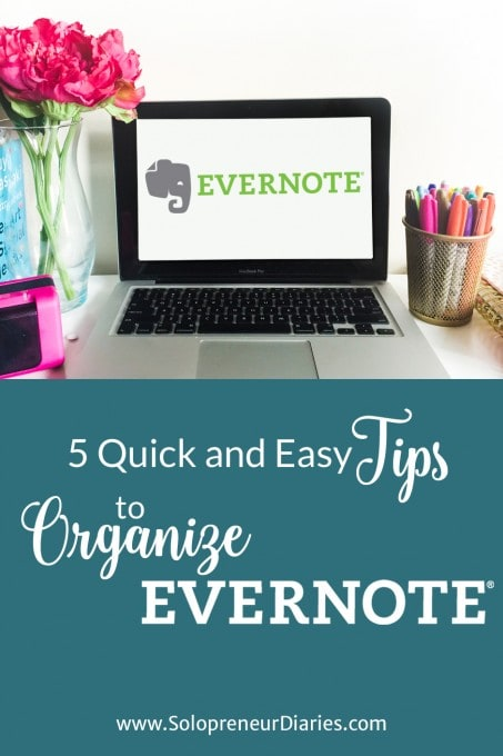 Evernote will be more useful if you take the time to organize your notes. Use these five Evernote organization tips to create a system that works for you. Click through to see all five tips.