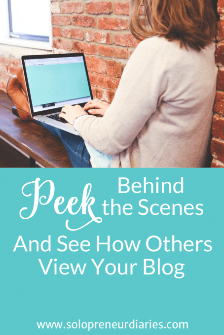 Want to see how others' view your blog? Use Peek to get a free assessment of your blog and then make changes based on the feedback. Click through to read more.