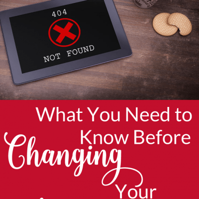 What You Need to Know Before Changing Your Permalinks