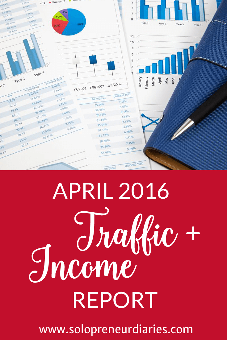 Solopreneur Diaries has been in existence for five weeks. Click through to see what a real monthly blog traffic and income report looks like for a newly formed blog.