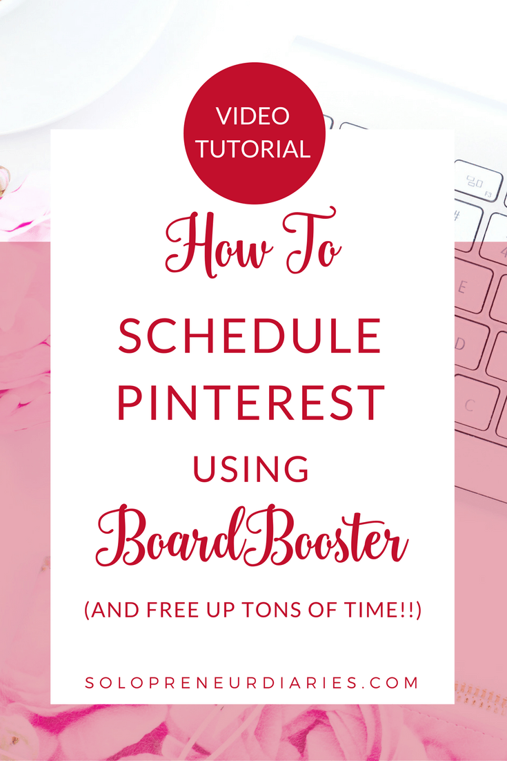 Want to drive more traffic to your blog with social media? A key strategy is to use BoardBooster as your Pinterest Scheduler. Click through for a video tutorial with tips on how to set up BoardBooster to automate and schedule pins.