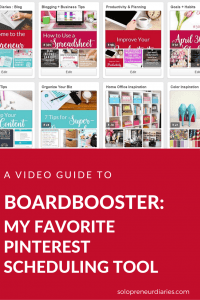 Confused about how to use BoardBooster as part of your Pinterest strategy? This post with video tutorial will walk you through the key features like scheduler, looping, and campaigns. Click through to see how BoardBooster can help you save time on social media.