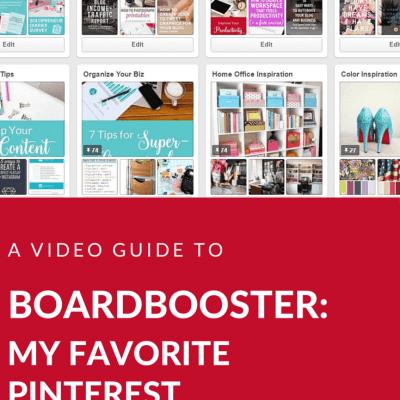 BoardBooster: My Favorite Pinterest Scheduling Tool
