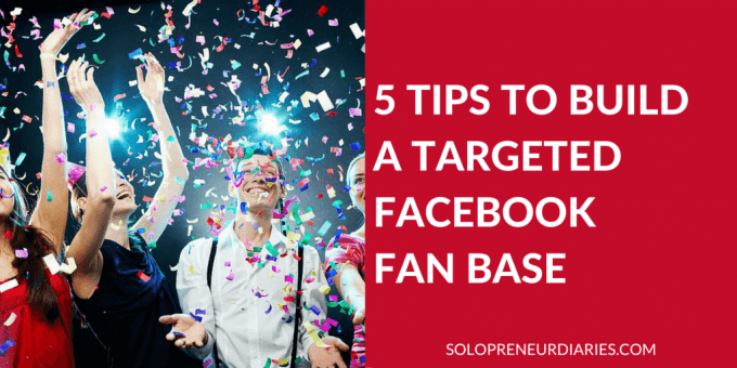 Actionable advice to grow your facebook followers.