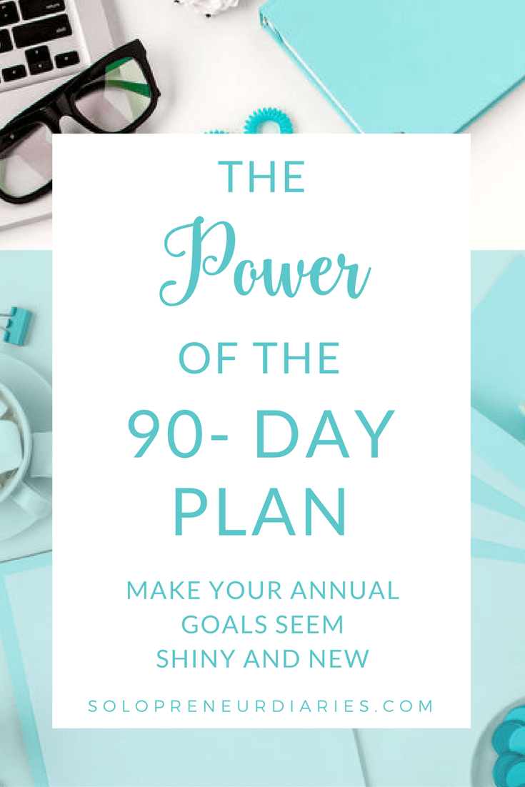 Are your annual business goals on track?  Use these tips to craft a 90 Day plan that will help you get focused, level up your productivity and crush your goals.