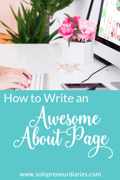 How to Write an Awesome About Page