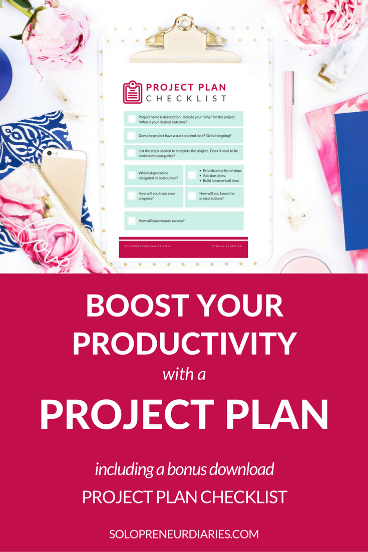 If you spend time planning your projects before diving into action, you will have a better idea of what you want the project to accomplish. Click through to read about creating a project plan and to download your free Project Plan checklist!