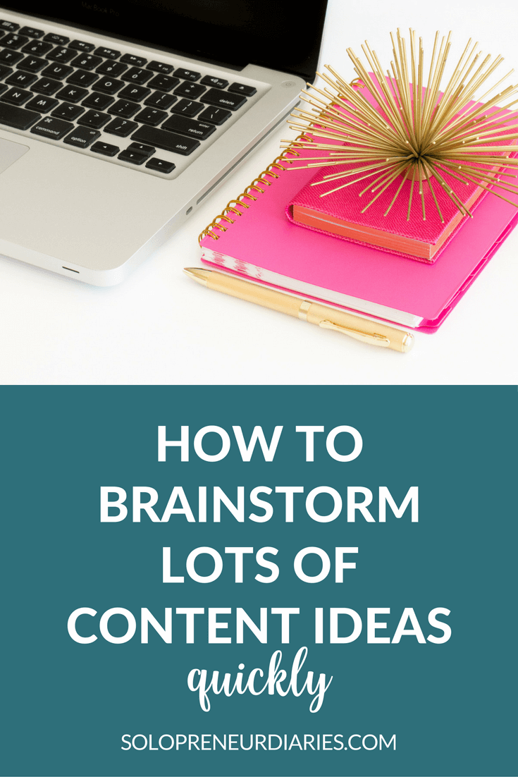 You know that feeling when you sit down to write and there's nothing there? Just a blank computer screen mocking you? Today, we're going to defeat the blank computer screen with 5 proven methods to brainstorm lots of content ideas quickly. Click through to read all five.