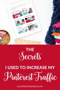 Using Pinterest for business is a different than randomly pinning recipes. This post shares how I learned the Pinterest traffic secrets that I use daily. Click through to read the post.