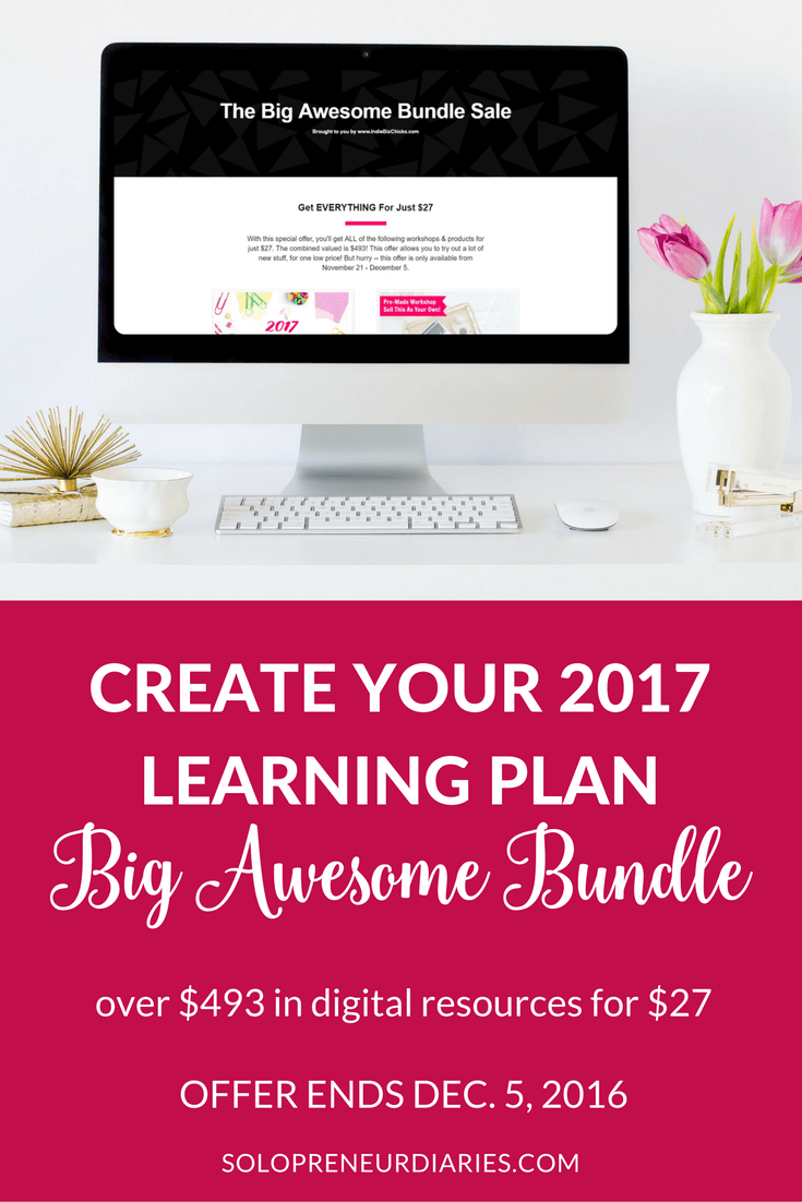 The Big Awesome Bundle is a collection of 10 courses and digital products, valued at $493, but selling for only $27. Click through for more details.
