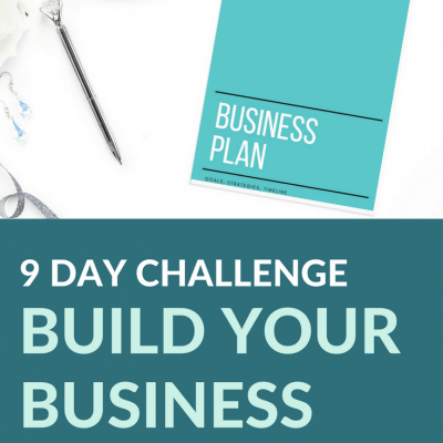Join us in the Build Your Business Blueprint 9-Day Challenge!