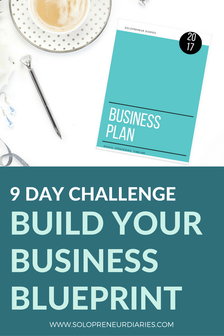 Join us in the 9-Day Build Your Business Blueprint Challenge! You'll set goals and create an actionable business plan in 9 days.Click through to sign up now!