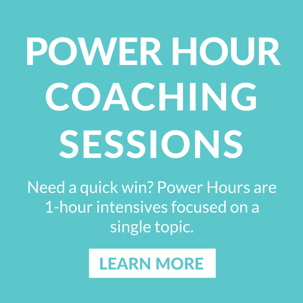 Need a quick win? Power Hours are 1-hour intensives focused on a single topic. Learn more.
