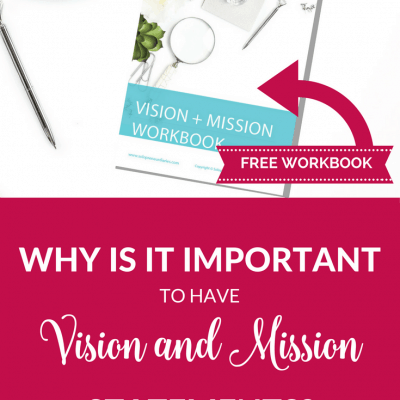 Why is it important to have vision and mission statements?