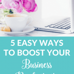It takes time and dedication to grow a small business. Click through for five productivity and time management tips that will help you stay focused and make every minute count.