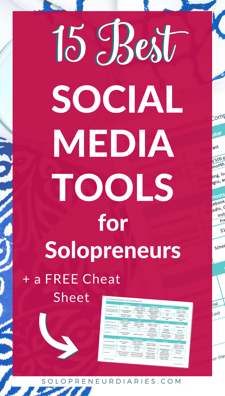 Looking for social media management tools that will help you save time so that you can focus more on your business? Here are some of the best, plus a free at-a-glance cheat sheet that makes it easy to compare them.