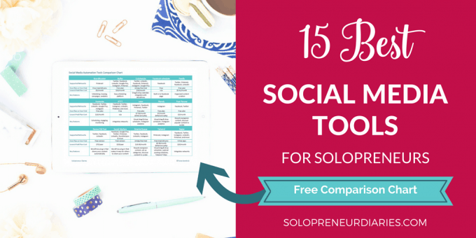 Looking for social media management tools that will help you save time? Here are some of the best, plus a free at-a-glance cheat sheet!