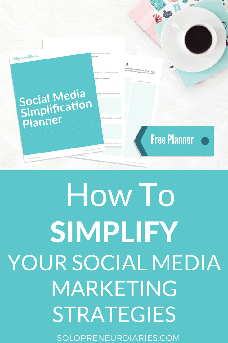 Social media marketing strategies can get way over-complicated. There's so much to do and so little time. However, there are ways to keep it simple.