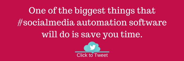 One of the biggest things that #socialmedia automation software will do is save you time.