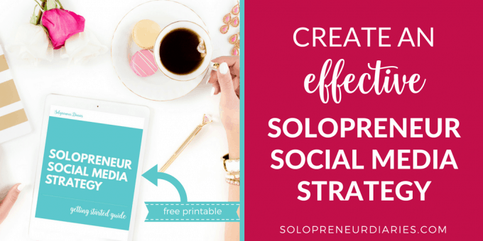 Do you have a social media strategy for your solopreneur business? An effective social media marketing strategy is essential for every solopreneur business. With a strategy in place, you'll be more focused and less overwhelmed. And you'll see better results – like more traffic, followers, and subscribers.