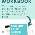 Are you an entrepreneur who struggles with how to promote your small business? Get your step-by-step guide to creating your own social media strategy & put your ideas into action. | Social Media Marketing Tips #socialmedia