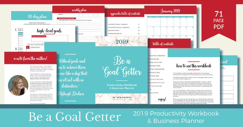 Be a Goal Getter - Learn More