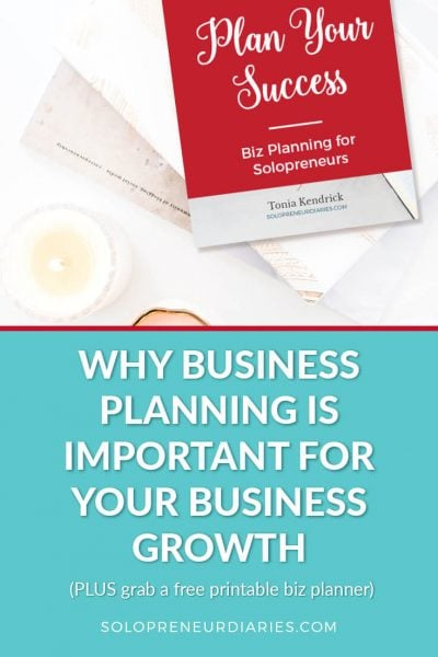 How often do you set aside time to plan for your small business? Here are some reasons why business planning is important for the success of your business.
