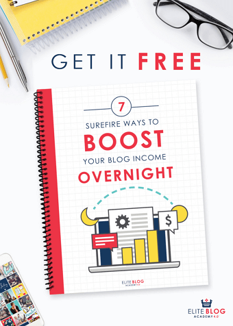 7 Surefire ways to BOOST your blog INCOME OVERNIGHT