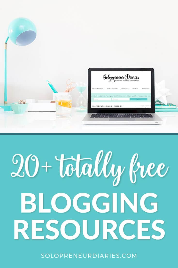 Looking for free resources to help you grow your blog? Here are 20+ of the best blogging resources and they are all totally free! You'll find tips on how to increase blog traffic, make money blogging, grow your email list, and more!