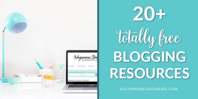 Do you want to grow your blog? Here are 20+ totally free blogging resources that will help you get started, increase traffic, monetize, and more!