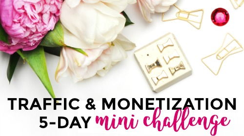 Traffic & Monetization mini-challenge