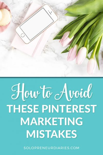 Are you making these common Pinterest mistakes? If you avoid making these mistakes on Pinterest, you'll find it easier to grow your Pinterest following and drive traffic to your website. Click through to learn how to avoid these Pinterest marketing mistakes.