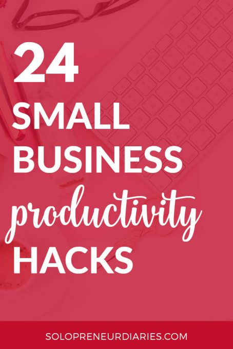 Want the best productivity tips for business? Here are 24 small business productivity hacks that will help you stay focused and get more done in less time.
