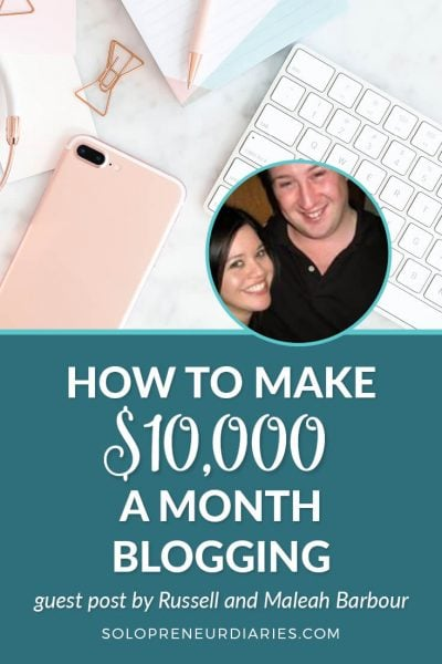 Wondering how six-figure bloggers make money? In this post, two successful bloggers share how they make $10,000 a month working online. Click through if you want to learn how to monetize your blog.
