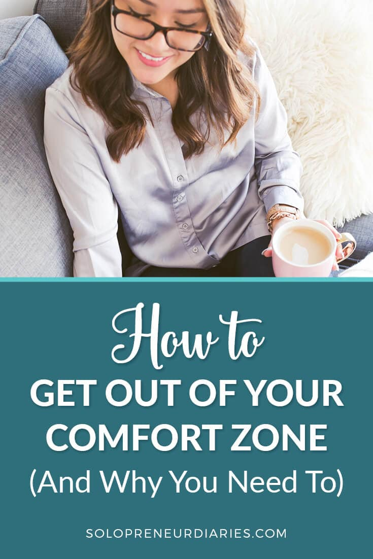 If you're looking for real business growth, then you must step out of your comfort zone. Following the same strategies yields the same results. It's only by trying new ideas that your business (and you!) will change and grow. Click through for tips on how to get out of your comfort zone and why you need to!