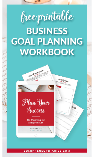 Download your free goal planning printable