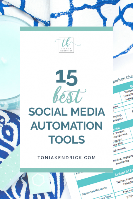 15 Best Social Media Automation Tools for Solopreneurs - featured pin