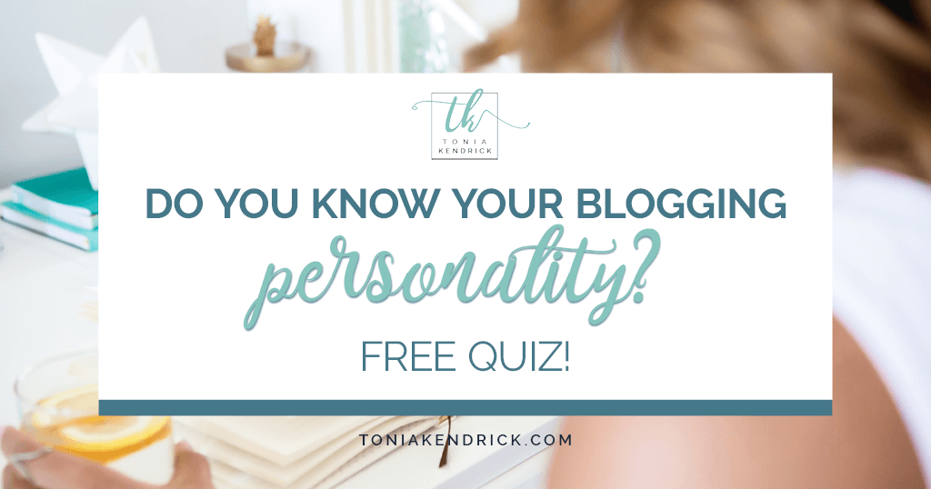 Do You Know Your Blogging Personality? Free quiz! - featured image