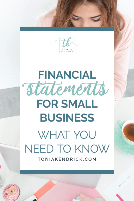 Financial Statements for Small Business: What You Need to Know - featured pin