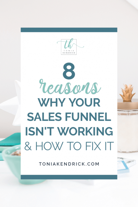 8 reasons why your sales funnel isn't working (and how to fix it) - featured pin