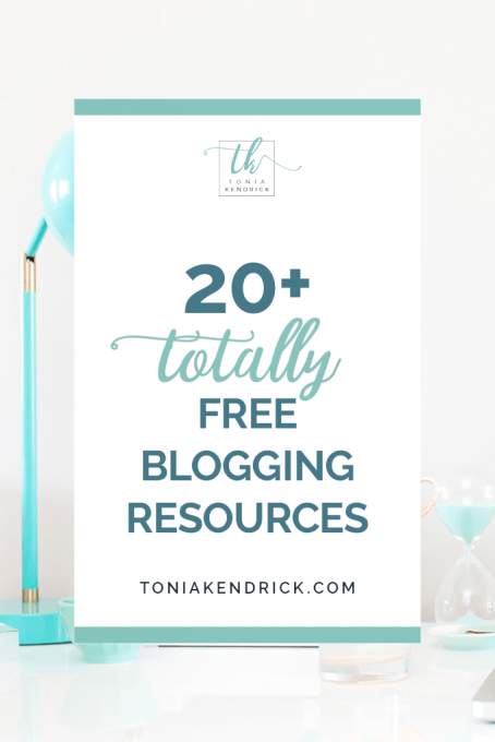 20+ Totally Free Blogging Resources - featured pin