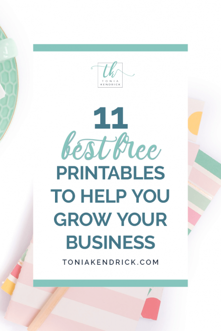 11 Best Free Printables to Help You Grow Your Business - featured pin