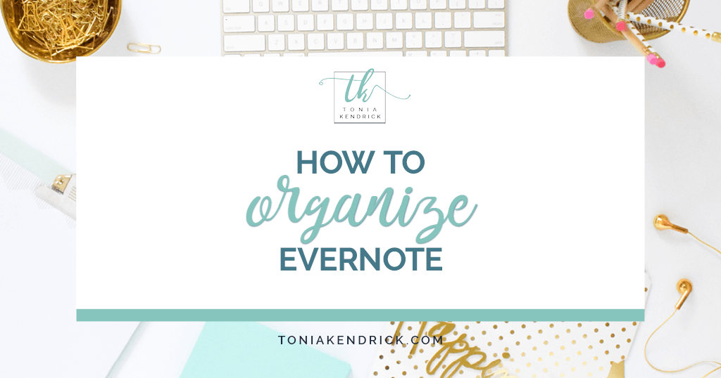 How to Organize Evernote - featured image