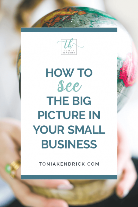 How to See the Big Picture in Your Small Business - featured pin