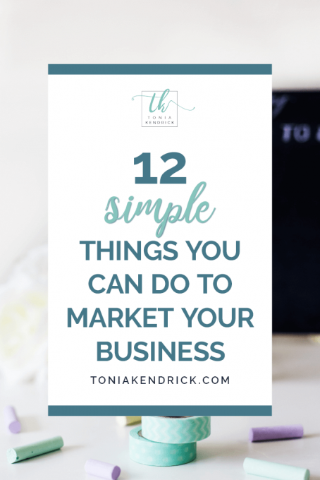 12 Simple Things You Can Do to Market Your Business - featured pin