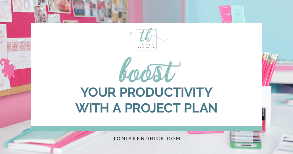 Boost Your Productivity With a Project Plan - featured image