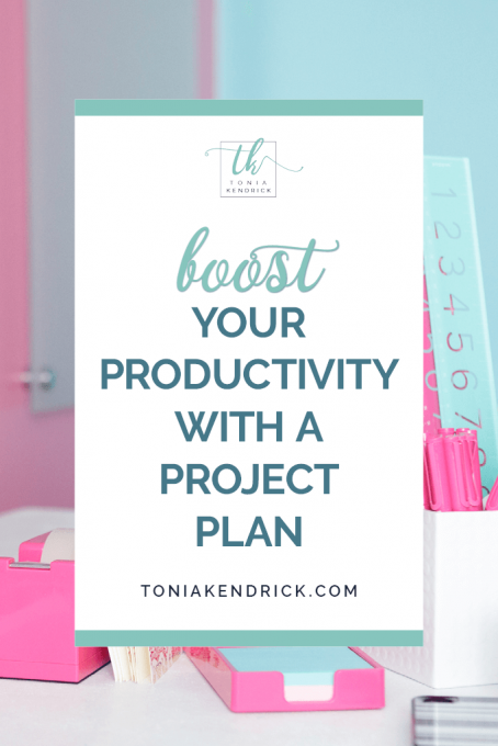 Boost Your Productivity With a Project Plan - featured pin